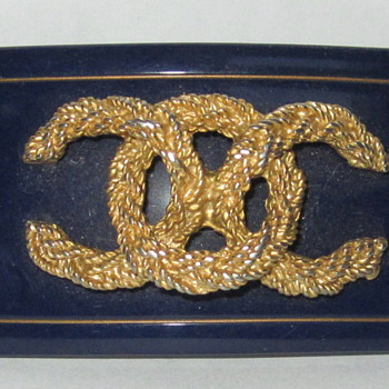 Vintage Chanel Hair Barrette - Accessories