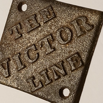 The victor line -Railroad?? - Advertising