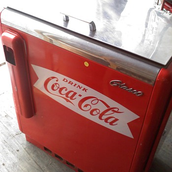 Coca Cola Cooler- works perfect  - Coca-Cola