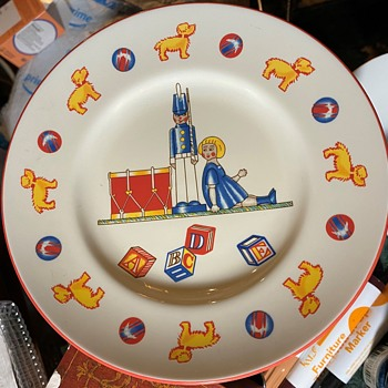 Child's Plate - Tiffany's - Christmas