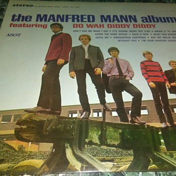 The Manfred Mann Band...On 33 1/3 RPM Vinyl - Records