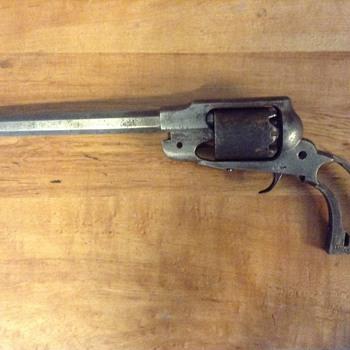 Fully workable handgun by blunderbuss