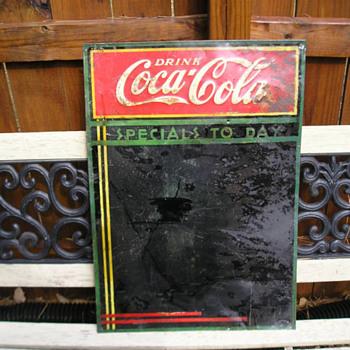 coca cola menu board - Coca-Cola