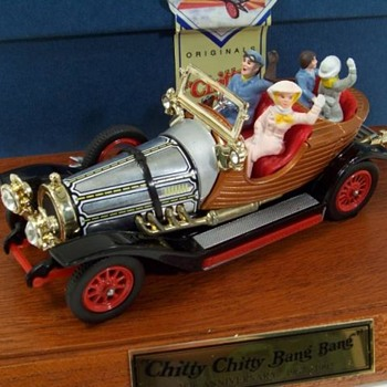 Chitty chitty bang bang collector series model figurine - Movies
