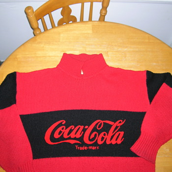 Knitted Coca Cola Sweater - Mens - Coca-Cola