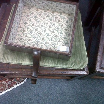 Vintage/antique shadow box