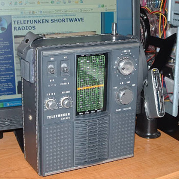 A Telefunken radio, my latest find...