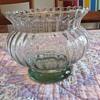 Green Glass Bowl- Vase