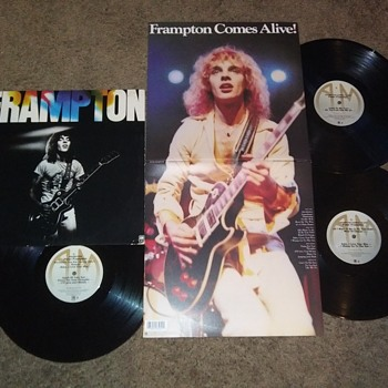 PETER FRAMPTON GOES INTO A CASTLE AND COMES OUT ALIVE! - Records