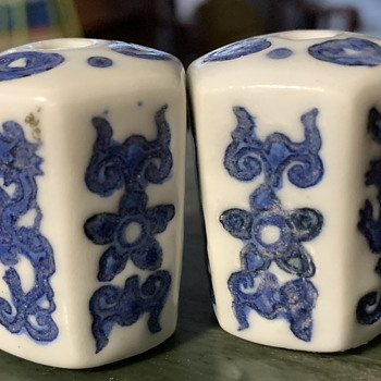 Are These Chinese Porcelain Knobs Old? - Asian