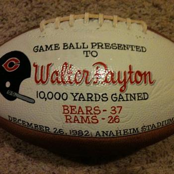 Walter Payton Football - Football