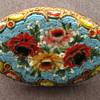 Old Italian Micro Mosaic Brooch