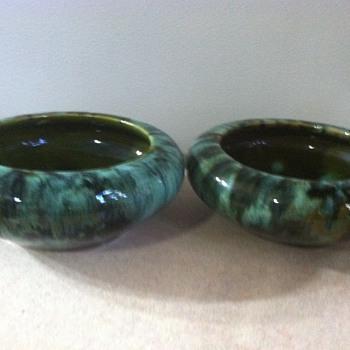 Brush McCoy Bulb Bowls - Pottery