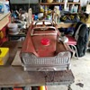 Murray Flat Face Fire Engine Pedal Car ( Early 60s) All Original Paint / Mostly All Original Parts - Love Patina !!!