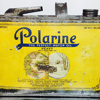 Polarine Oil Can - Petroliana