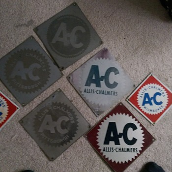 allis-chalmers - Signs