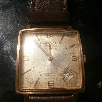 vintage frech wrist watch. - Wristwatches