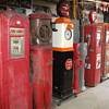 Some of my  collection of gas pumps