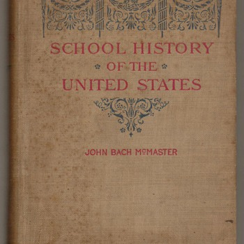 1897 - School History of the United States - Books
