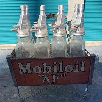 Antique Oil Bottle  - Petroliana