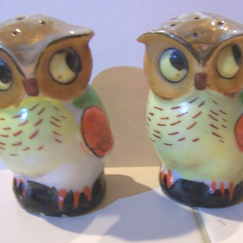 Luster owl salt and peppers #2
