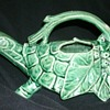 McCoy Pottery turtle watering  sprinkler