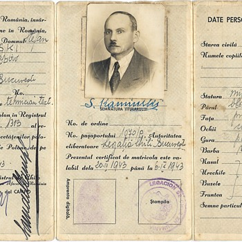Chilean diplomat Samuel del Campo life-saving ID - Paper