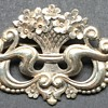Antique Flower Basket Brooch Pin