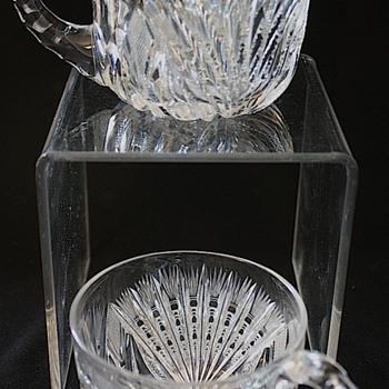 American Brilliant Cut Glass Punch Cups