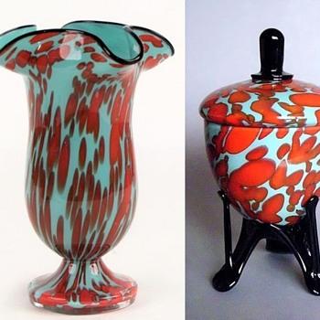 Welz - Bicolor #1 - Art Glass