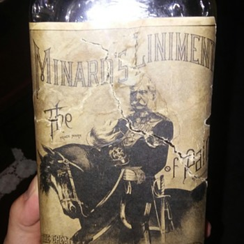 1880s bottle with label