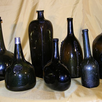 Some favorite pieces from my collection  - Bottles
