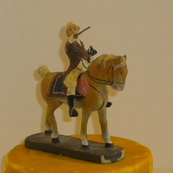 Antique Toy Soldier - Toys