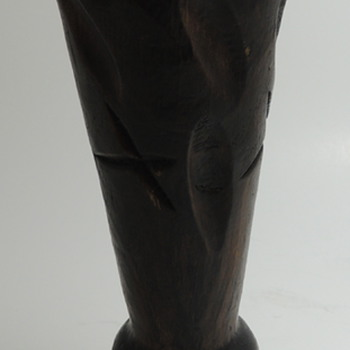 Old Wooden Candle Stick or Goblet?