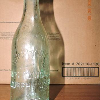 Soda Bottle Murphysboro Bottling plant - Bottles
