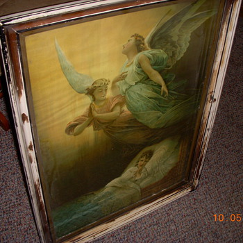 18th. Century Lithograph found in attic of old homstead  - Posters and Prints