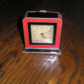 Tiffany 8 Day Clock  - Clocks