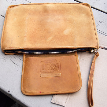 RE-DYE ON LEATHER COACH PURSE - Womens Clothing