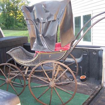 1870? baby stroller