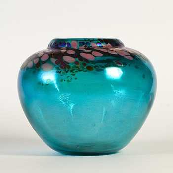 vase by Andrew Williams of Glass Art, New Zeland - Art Glass