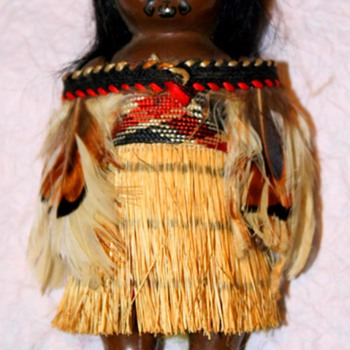Maroi Doll with Tribal Facial Tattoo  - Dolls