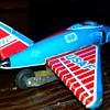 Tin Litho United States Air Force Plane