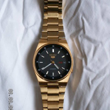 Vintage Seiko 5 7S26-316o A4 Wrist Watch