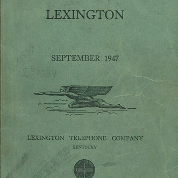 Associated Telephone - Old Directories - Part 1 - Telephones