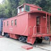 Santa Fe Caboose No. 1314 At the RailGiants Museum at the Fairplex