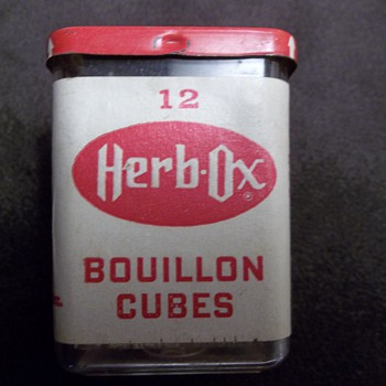 Herb Ox Bouillion Cube Container
