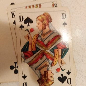 My favorite old card game - Cards