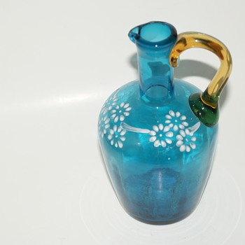 Cruet without Stopper - Art Glass
