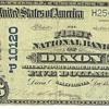 National bank of Dixon, Calif 1911