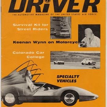 "USAF ""Driver"" Magazine - July 1967 - Paper"